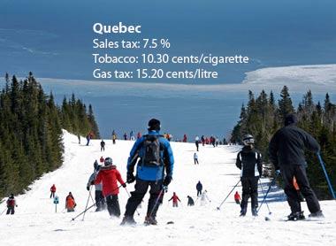 Quebec - a que mais cobra impostos